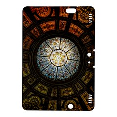 Black And Borwn Stained Glass Dome Roof Kindle Fire Hdx 8 9  Hardshell Case by Nexatart