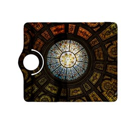 Black And Borwn Stained Glass Dome Roof Kindle Fire Hdx 8 9  Flip 360 Case
