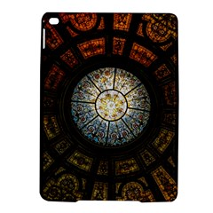 Black And Borwn Stained Glass Dome Roof Ipad Air 2 Hardshell Cases by Nexatart