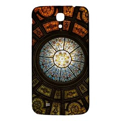 Black And Borwn Stained Glass Dome Roof Samsung Galaxy Mega I9200 Hardshell Back Case by Nexatart