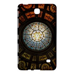 Black And Borwn Stained Glass Dome Roof Samsung Galaxy Tab 4 (8 ) Hardshell Case  by Nexatart