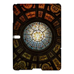 Black And Borwn Stained Glass Dome Roof Samsung Galaxy Tab S (10 5 ) Hardshell Case  by Nexatart