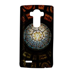 Black And Borwn Stained Glass Dome Roof Lg G4 Hardshell Case by Nexatart