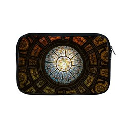 Black And Borwn Stained Glass Dome Roof Apple Macbook Pro 13  Zipper Case by Nexatart