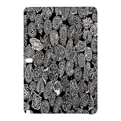 Black And White Art Pattern Historical Samsung Galaxy Tab Pro 10 1 Hardshell Case