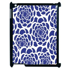 Blue And White Flower Background Apple Ipad 2 Case (black)