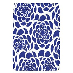 Blue And White Flower Background Flap Covers (s)