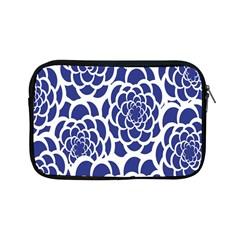 Blue And White Flower Background Apple Ipad Mini Zipper Cases