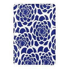 Blue And White Flower Background Samsung Galaxy Tab Pro 10 1 Hardshell Case