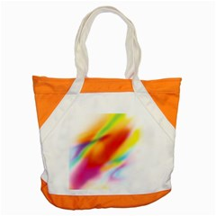 Blur Color Colorful Background Accent Tote Bag