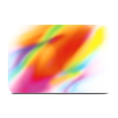 Blur Color Colorful Background Plate Mats by Nexatart
