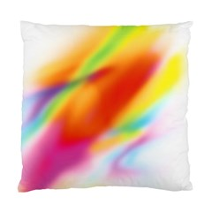 Blur Color Colorful Background Standard Cushion Case (two Sides)