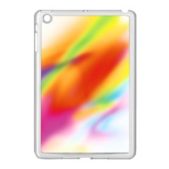 Blur Color Colorful Background Apple Ipad Mini Case (white)