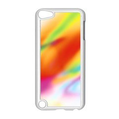 Blur Color Colorful Background Apple Ipod Touch 5 Case (white)