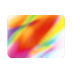 Blur Color Colorful Background Double Sided Flano Blanket (mini)  by Nexatart