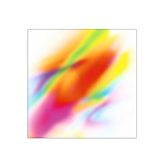 Blur Color Colorful Background Satin Bandana Scarf by Nexatart