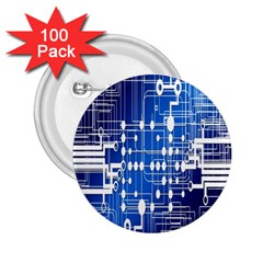 Board Circuits Trace Control Center 2 25  Buttons (100 Pack)