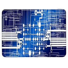 Board Circuits Trace Control Center Samsung Galaxy Tab 7  P1000 Flip Case by Nexatart
