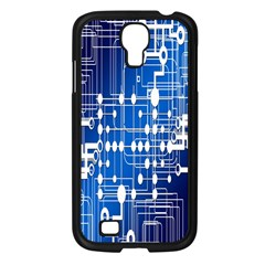 Board Circuits Trace Control Center Samsung Galaxy S4 I9500/ I9505 Case (black) by Nexatart