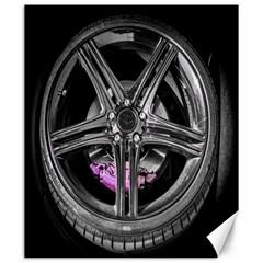 Bord Edge Wheel Tire Black Car Canvas 20  X 24
