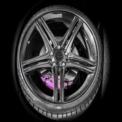 Bord Edge Wheel Tire Black Car Magic Photo Cubes