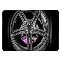 Bord Edge Wheel Tire Black Car Samsung Galaxy Tab Pro 12 2  Flip Case by Nexatart