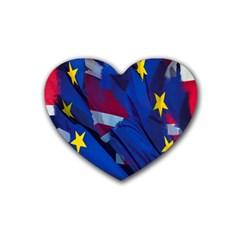 Brexit Referendum Uk Heart Coaster (4 Pack)