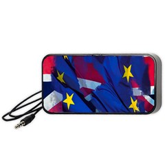 Brexit Referendum Uk Portable Speaker (black)