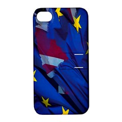 Brexit Referendum Uk Apple Iphone 4/4s Hardshell Case With Stand