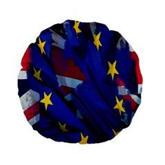 Brexit Referendum Uk Standard 15  Premium Flano Round Cushions