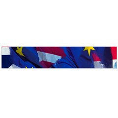 Brexit Referendum Uk Flano Scarf (large)