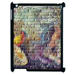 Brick Of Walls With Color Patterns Apple Ipad 2 Case (black) by Nexatart