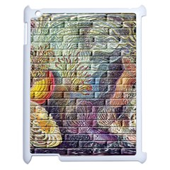 Brick Of Walls With Color Patterns Apple Ipad 2 Case (white)