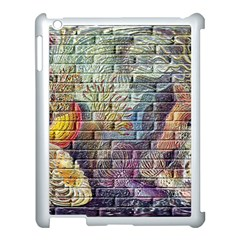 Brick Of Walls With Color Patterns Apple Ipad 3/4 Case (white)
