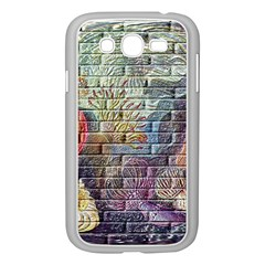 Brick Of Walls With Color Patterns Samsung Galaxy Grand Duos I9082 Case (white)