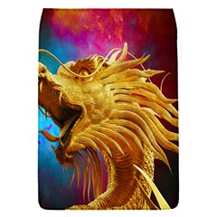 Broncefigur Golden Dragon Flap Covers (s)  by Nexatart