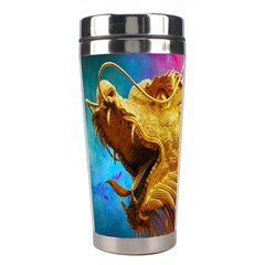 Broncefigur Golden Dragon Stainless Steel Travel Tumblers