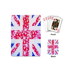 British Flag Abstract Playing Cards (mini)  by Nexatart