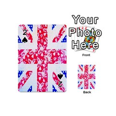 British Flag Abstract Playing Cards 54 (mini)