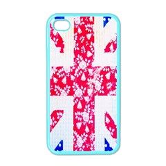 British Flag Abstract Apple Iphone 4 Case (color)