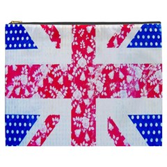 British Flag Abstract Cosmetic Bag (xxxl)