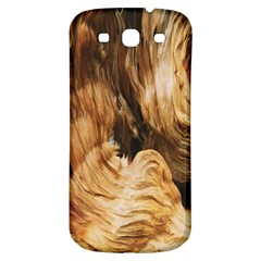 Brown Beige Abstract Painting Samsung Galaxy S3 S Iii Classic Hardshell Back Case