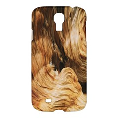 Brown Beige Abstract Painting Samsung Galaxy S4 I9500/i9505 Hardshell Case