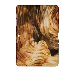 Brown Beige Abstract Painting Samsung Galaxy Tab 2 (10 1 ) P5100 Hardshell Case