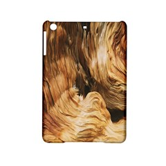 Brown Beige Abstract Painting Ipad Mini 2 Hardshell Cases