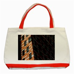 Building Architecture Skyscraper Classic Tote Bag (red) by Nexatart