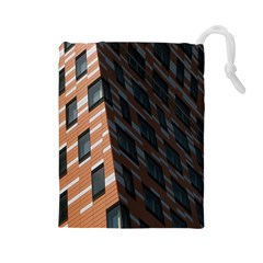 Building Architecture Skyscraper Drawstring Pouches (large)