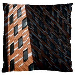 Building Architecture Skyscraper Large Flano Cushion Case (one Side) by Nexatart