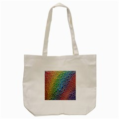 Bubbles Rainbow Colourful Colors Tote Bag (cream)