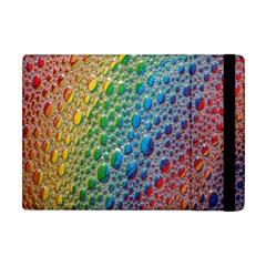 Bubbles Rainbow Colourful Colors Apple Ipad Mini Flip Case